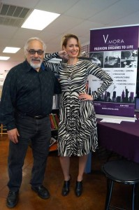 Anna Livermore of V. Mora and Jay Arbetman