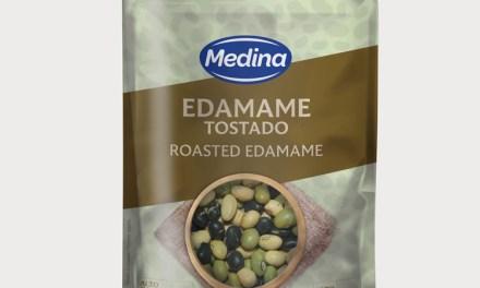 """Aperitivos Medina completa a su gama de snacks con un nuevo mix """"Edamame Tostado"""""""
