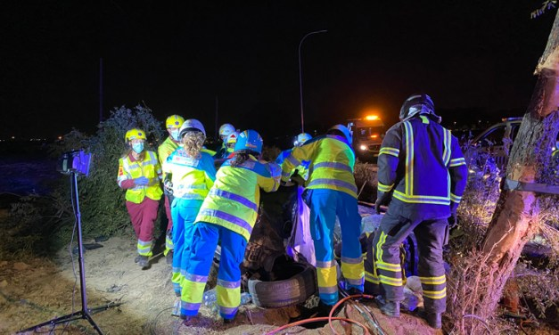 Tres fallecidos en un accidente de tráfico en Móstoles