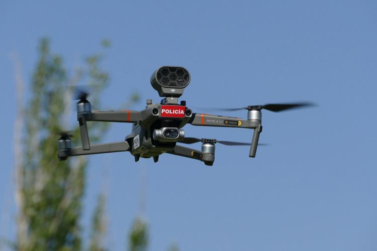 Móstoles vigila los delitos medioambientales a vista de dron