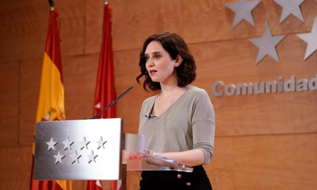 Madrid no tendrá restricciones de horarios y aforos en la hostelería y el ocio nocturno desde el próximo lunes