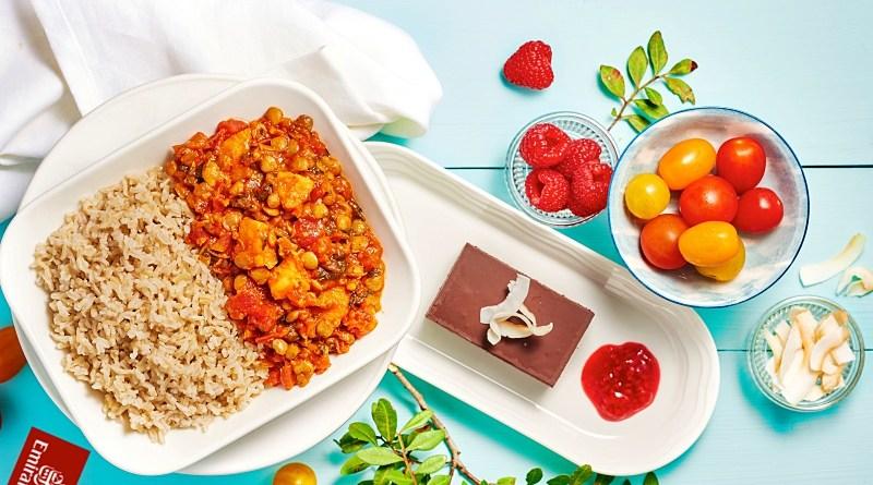 Comida vegana Emirates