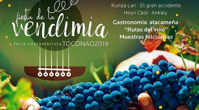 Fiesta de la vendimia en Toconao
