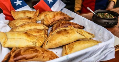 Empanadas vegetarianas para Fiestas Patrias