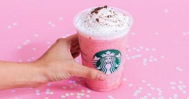 Starbucks Pink Paradise Frapuccino