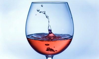 Copa de vino Rosé