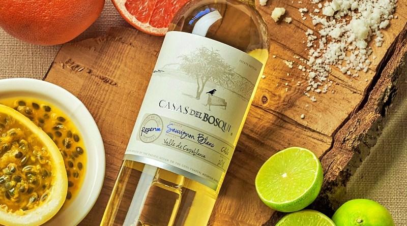 El Sauvignon Blanc Reserva 2019 es lo más nuevo de la viña Casas del Bosque
