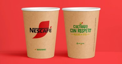 Nestlé introduce en Chile un vaso de papel 100% reciclable y biodegradable