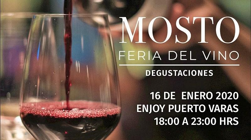 Mosto Feria de Vinos es un evento que se desarrollará en el Enjoy de Puerto Varas