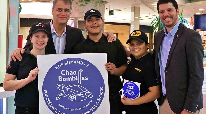 Varias cadenas de restaurante recibieron en sello #ChaoBombillas que entrega el Ministerio de Medio Ambiente