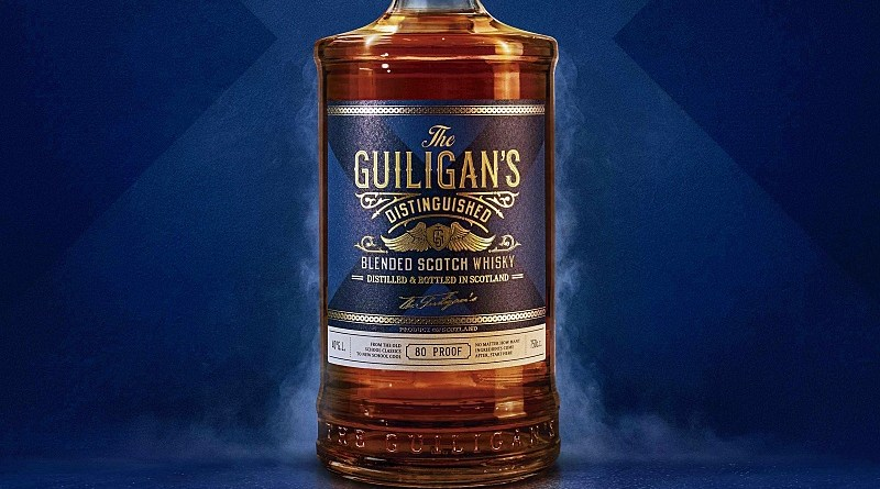 Viña Concha y Toro lanza su primer whisky: The Guiligan's Distinguished, destilado producido y embotellado en Escocia para el mercado chileno.