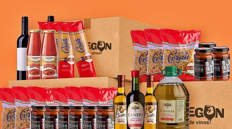 El outlet de vinos, cervezas y espumantes de Viña TerraMater llamado el Bodegón añadió a su lista de productos una sección italiana.