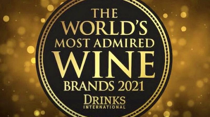 Hace unos días fueron reveladas las 50 marcas de vino más admiradas del mundo en 2021, cinco de las cuales son chilenas.