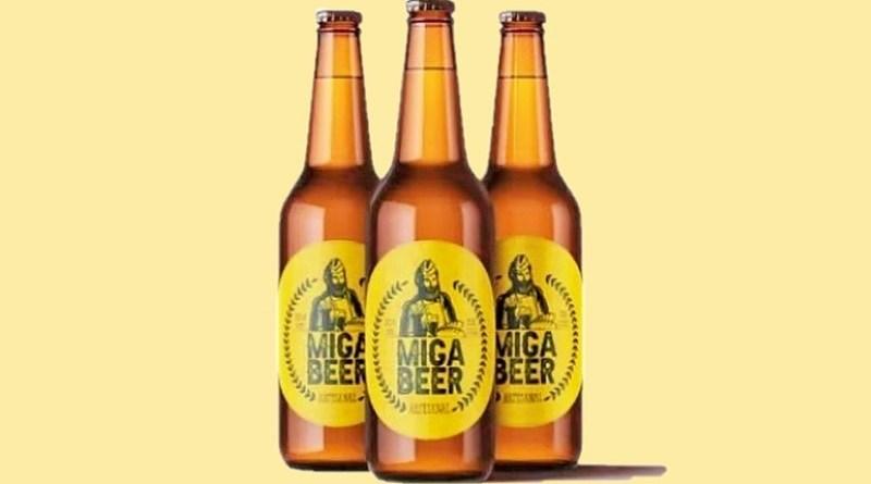 """Aplicando la economía circular, el emprendedor Benjamín García decidió usar las mermas de su panadería para fabricar una cerveza llamada """"Miga Beer""""."""