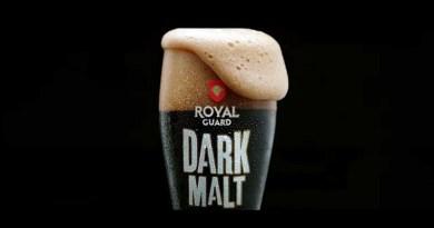 Bajo el nombre de Dark Malt, aterriza en Chile una nueva variedad de la cerveza Royal Guard de CCU, la que llega como una edición limitada
