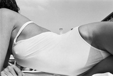 Piscine Molitor. Eté 1985. © Gil Rigoulet
