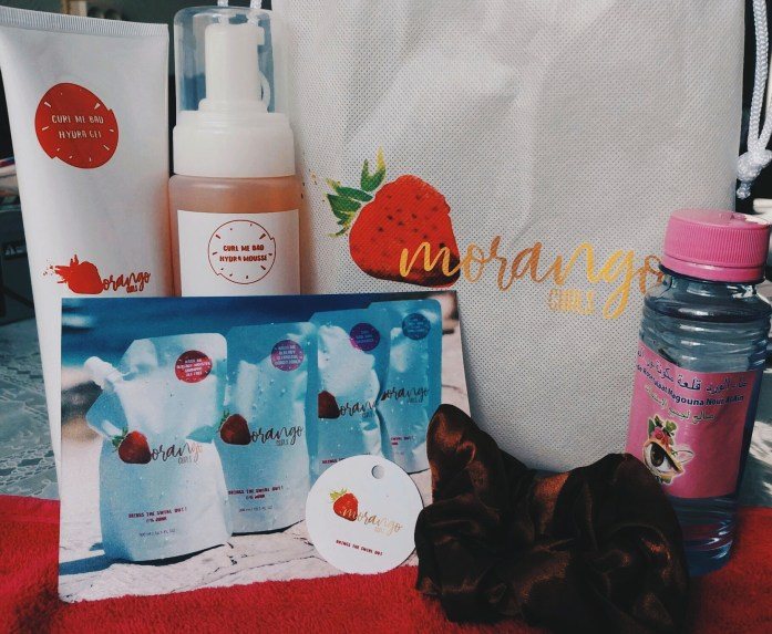 morango curls products