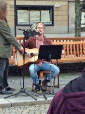 Hannes Hilding sjöng
