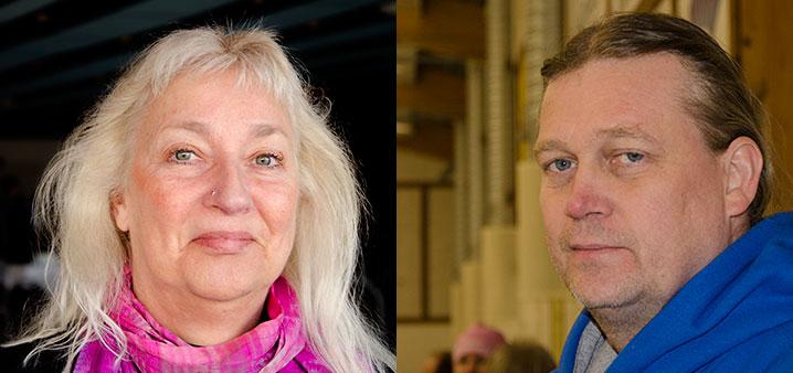 Kerstin Lundberg och Mats-Erik Nordin