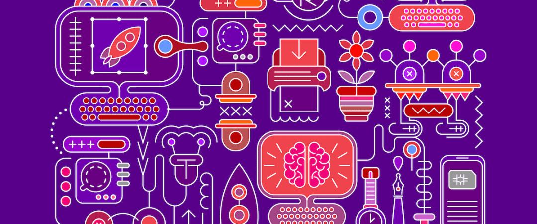illustration of design and creativity