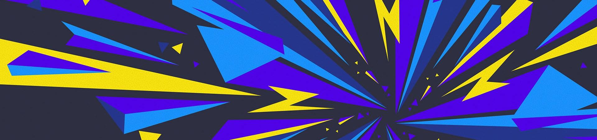 Broken Geometric Shapes by themefire
