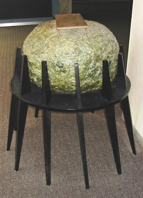 NAC Time Capsule a stone time ball