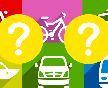 transport quiz icons and graphics