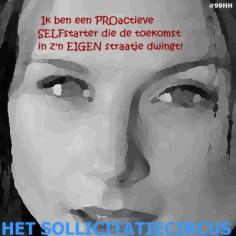 Het SollicitatieCircus_99 - pro-actieve selfstarter