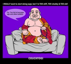 CouchYogi too_full_of_excuses
