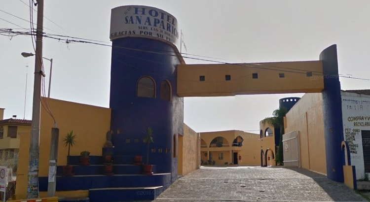 Auto hotel San aparicio Puebla