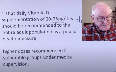 Vitamin D VIDEOS reporting Research and Practice with Covid-19
