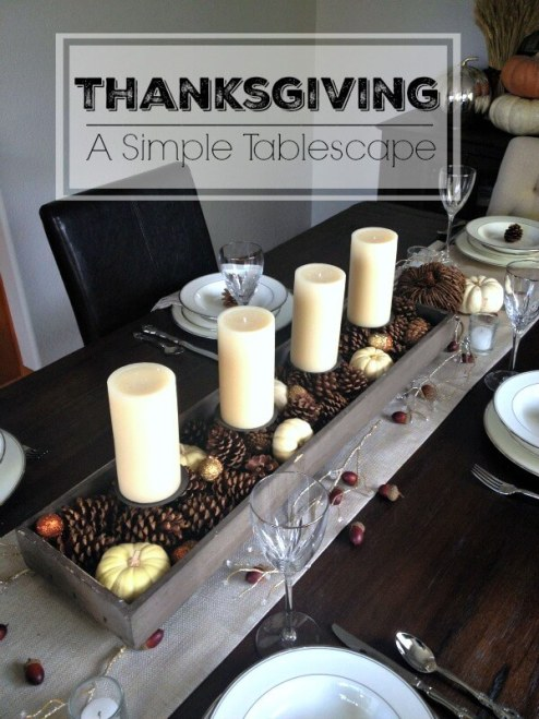 Fall tablescape, Thanksgiving tablescape