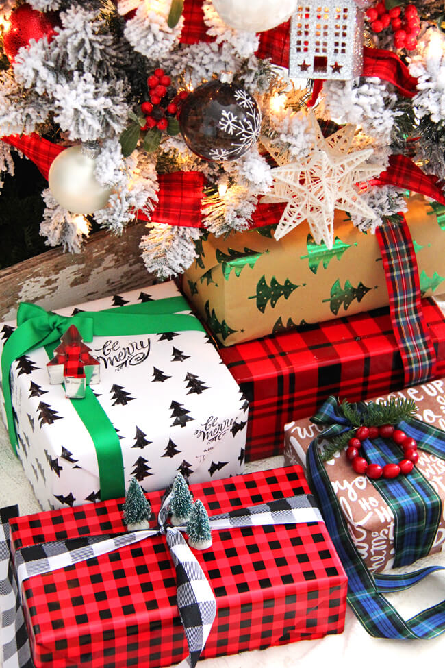 gift wrapping ideas, gift wrapping