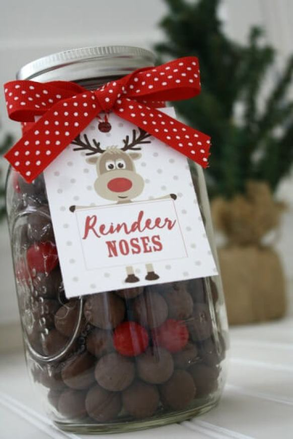 Christmas gift ideas, mason jar gift ideas