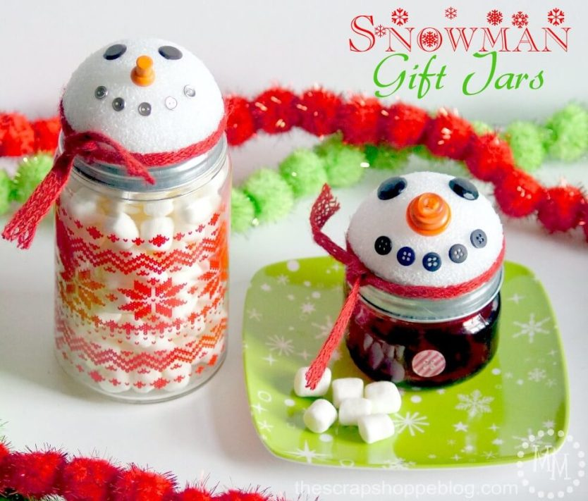 Christmas gift jar ideas, gift jars