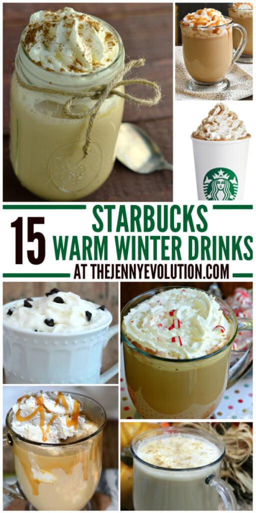Starbuck recipes, winter drinks