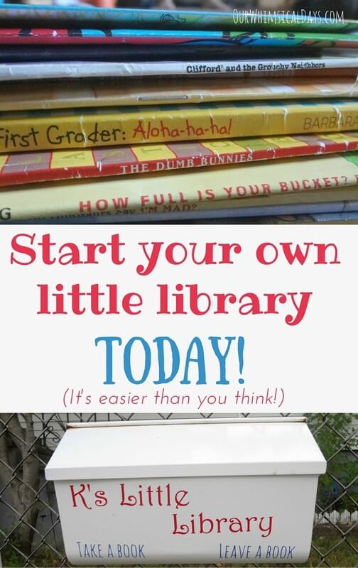 back to school ideas, how to create a library