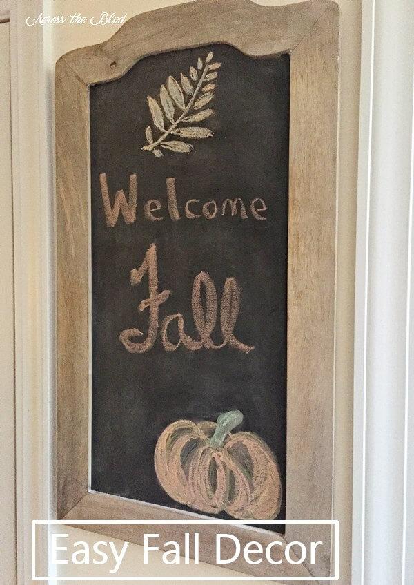 chalkboard ideas, fall chalkboard ideas