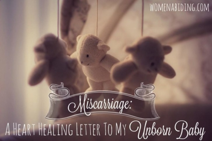 How to heal from a miscarriage