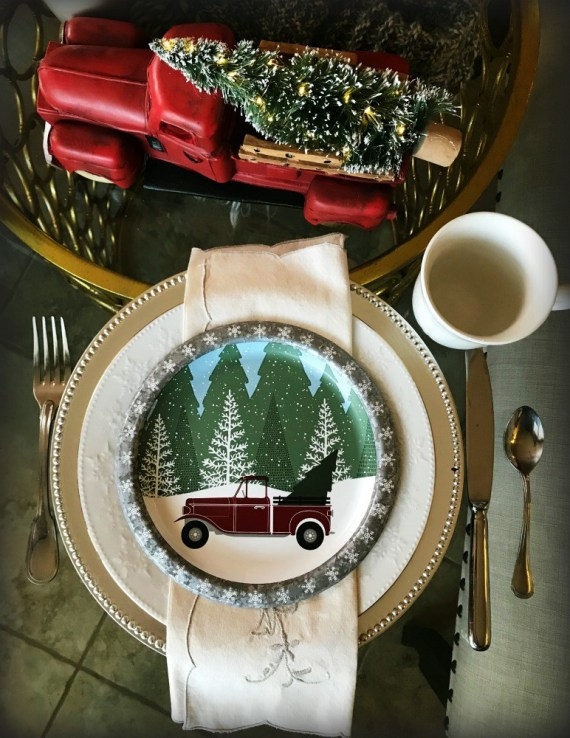 Week 156 Sunday's Best - Sweater Weather Christmas Table from Blowing Away Out West