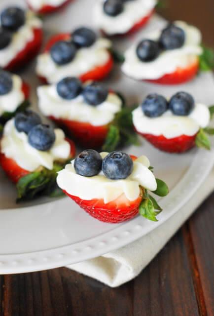red white blue desserts