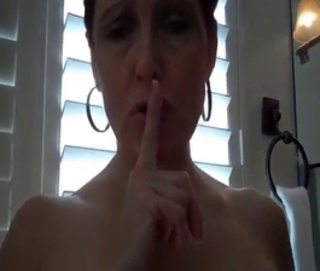 Slutty Mom Asked Me Stretch Her Cunt For A Little