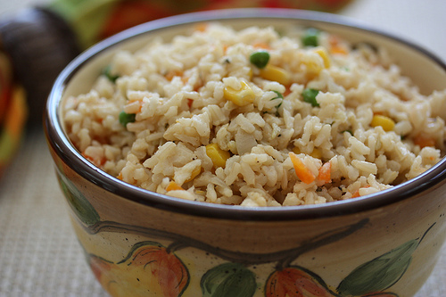 brown rice photo