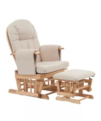 Mothercare Reclining Glider Chair Natural