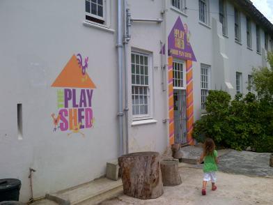 Playshed Exterior