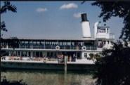 The boat stops at Ufenau