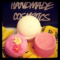 We visited Lush!!