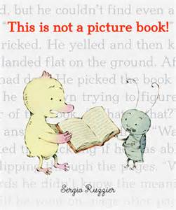 This is not a picture book cover image