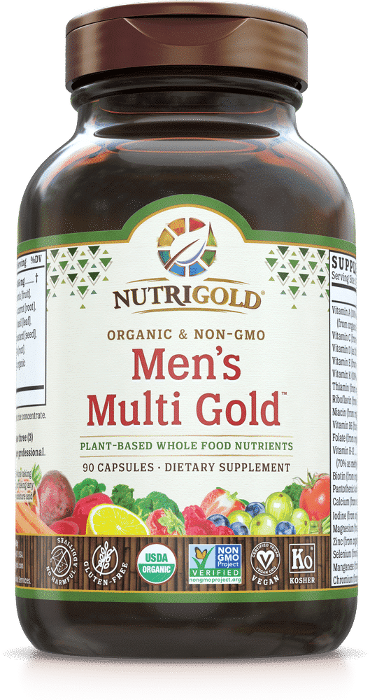 NutriGold Men's Multi Gold Multivitamin