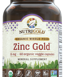 NutriGold Zinc Gold - 15 mg